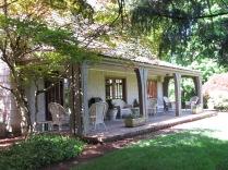 Frank Estate - back veranda