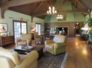 Frank Estate - living room