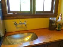 Frank Estate - pantry hand-hammered sink