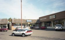 Lambs Thriftway 1995, original strip mall - Uetz's Cleaners, Book Re-View, Garden Home Pharmacy