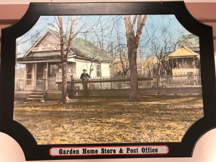 Lambs Thriftway colorized photos 2020 - Garden Home store, P.O. 1890, Lumen Nichols
