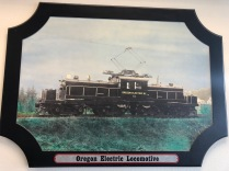 Lambs Thriftway colorized photos 2020 - Oregon Electric locomotive, began in Garden Home in 1908