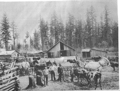 Hunziker Dairy, from Tigard by Mary Payne