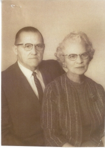 Rosalie Balmer Gertsch (1900-1977) and Peter Albert Gertsch (1895-1972). Married May 15 1935. Parents of Shirley Gertsch Bartels
