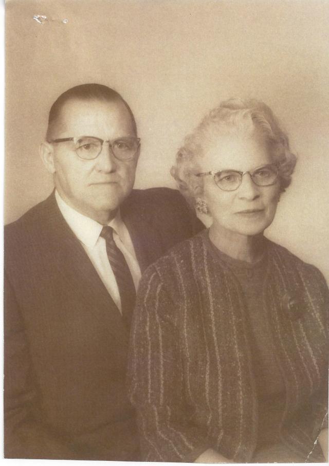 Rosalie Balmer Gertsch (1900-1977) and Peter Albert Gertsch (1895-1972). Married May 15 1935. Parents of Shirley Gertsch Bartels