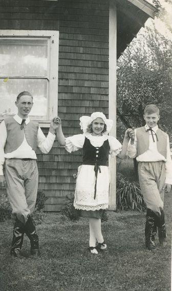 1938 Czech National Dances, Ted Jensen, Vlasta Becvar, Lloyd Knudsen