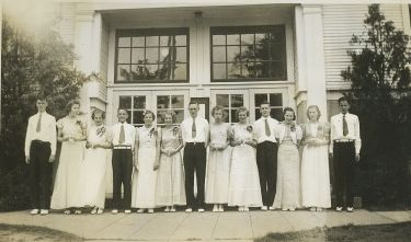 1939 Garden Home School 8th Grade Graduating Class
