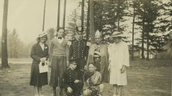 1939 Garden Home School, Operetta Isle of Chance, Lady Vlasta Becvar, Lord Roger Soule, Captain Ted Jensen, King Bill Worsham, Simpleta Phyllis VanDerMark, aide John Gamble Donald