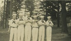 1939 Garden Home School, OperettaIsle of Chance, sailors Ted Newton, Bill Hyde, David Replogle, Donald Mason, Buddy Upchurch, James Lyons
