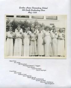 1939 Graden Home School grade 8