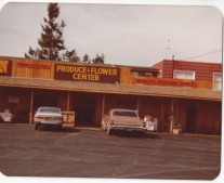Comella's Produce and Flower Center late 1970s