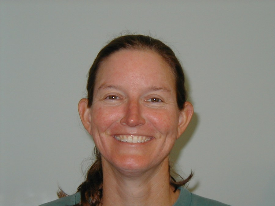 Kelly Allen, library staff, 2004