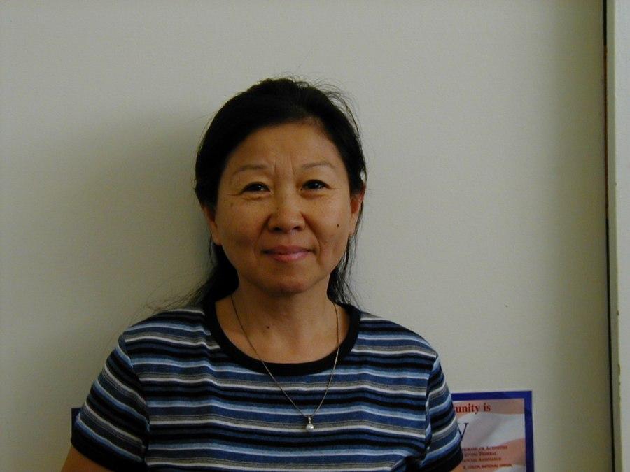 Kai Myers, library staff, 2004