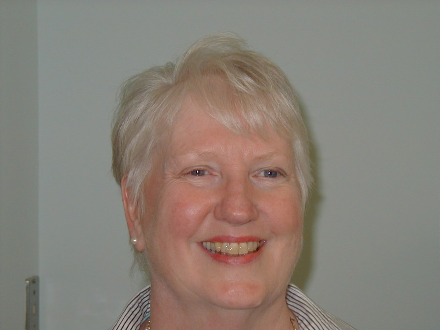 Leslie Brown, library staff, 2004