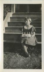 Vlasta Becvar, December 1934, Occidental Ave. 76th