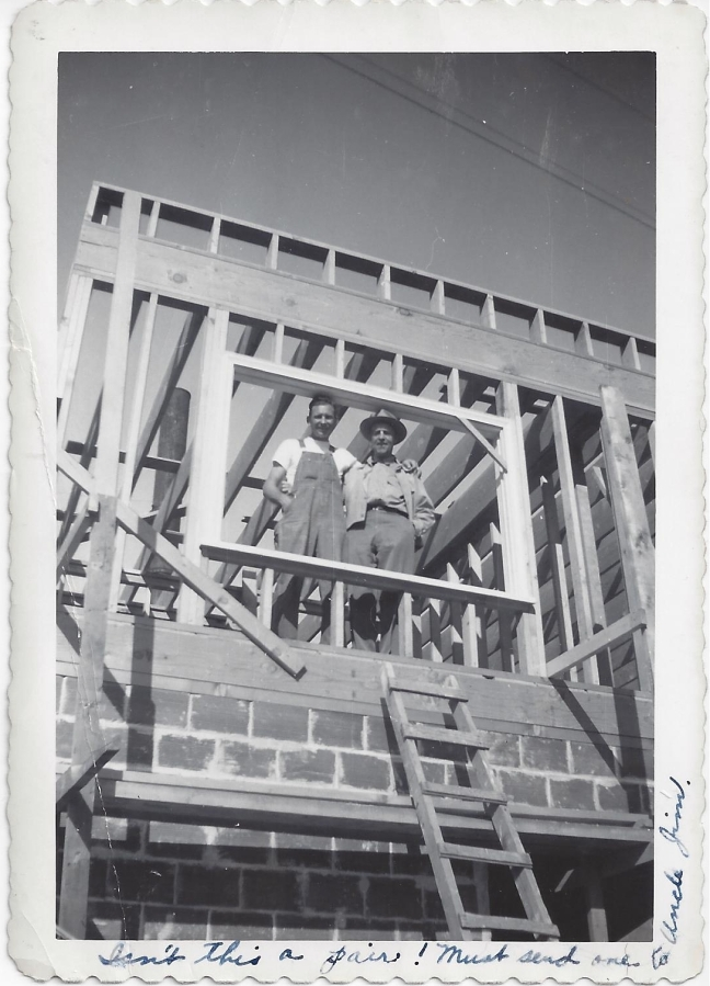 Whitney's Cannery - Building the 2nd floor apt - B