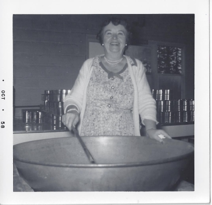 Whitney's Cannery - Canning operations - 1958