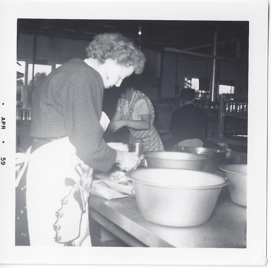 Whitney's Cannery - Canning operations - 1959