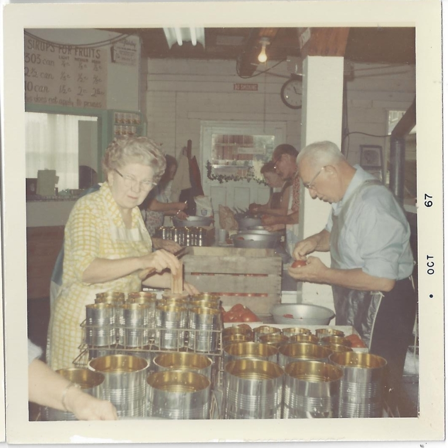 Whitney's Cannery - Canning operations 1967