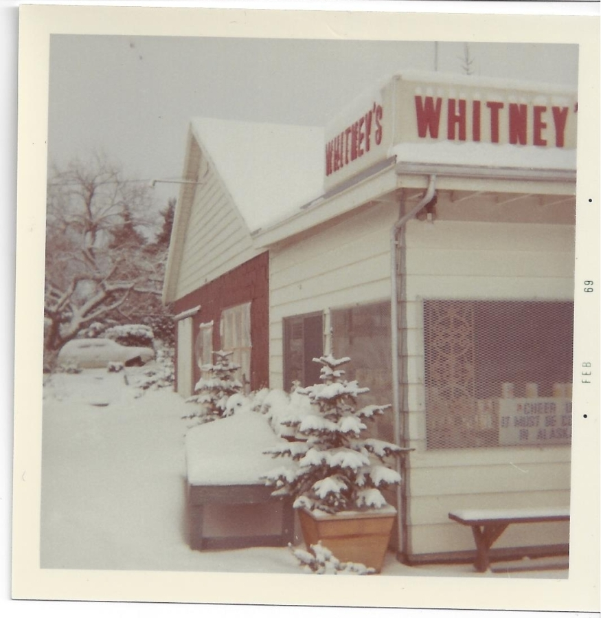 Whitney's Cannery - winter 1969