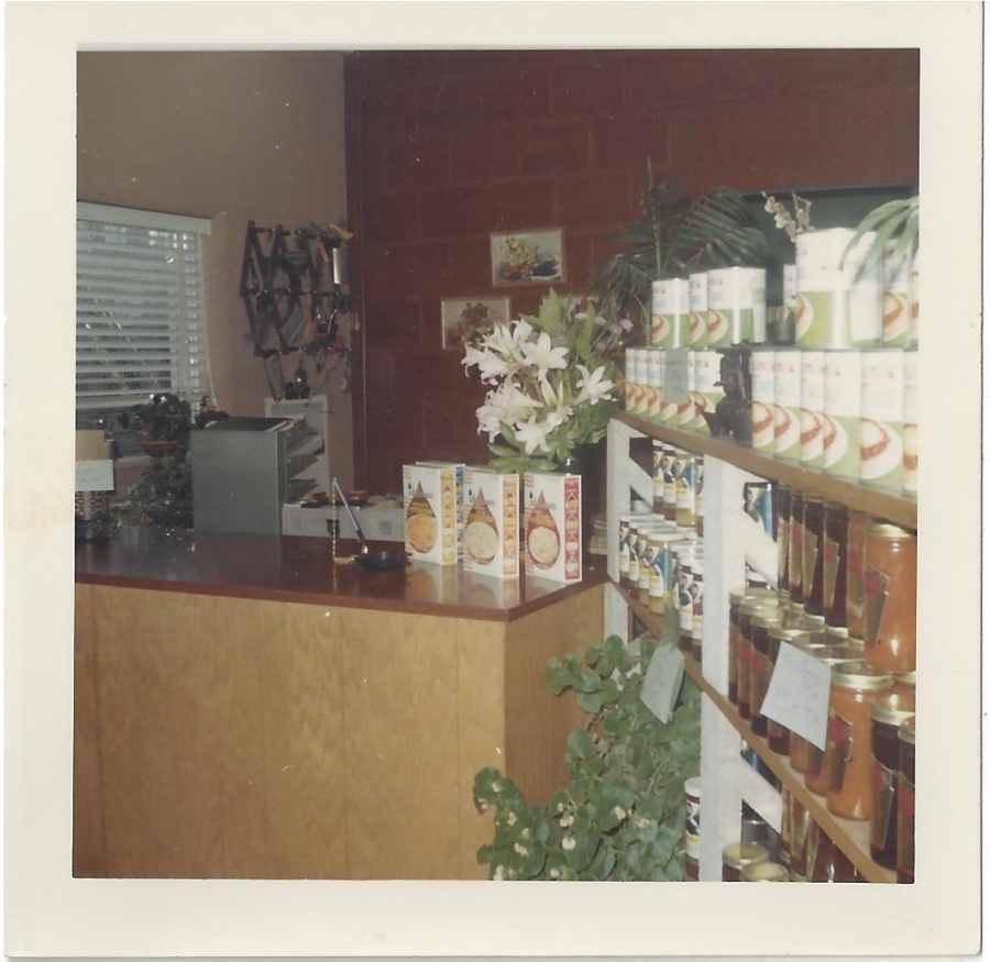 Whitney's Cannery - Office - front desk