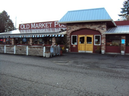 Old Market Pub at the location of the old cannery