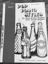 Piano book cover