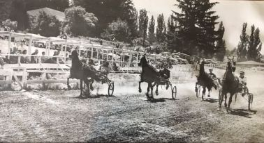 Buggy races at the Hunt Club