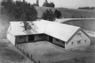 Frank caretaker's house