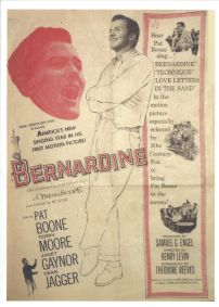 Bernadine movie poster (starring Pat Boone and Dorothy Johnson)