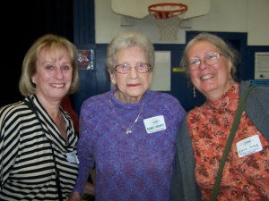 Sally Ford, Mildred Stevens, Elaine Dickson Pollak