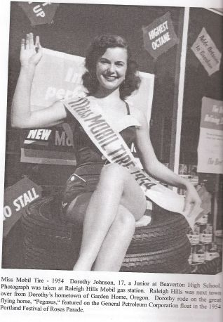 Dorothy Johnson, Miss Mobil Tire 1954