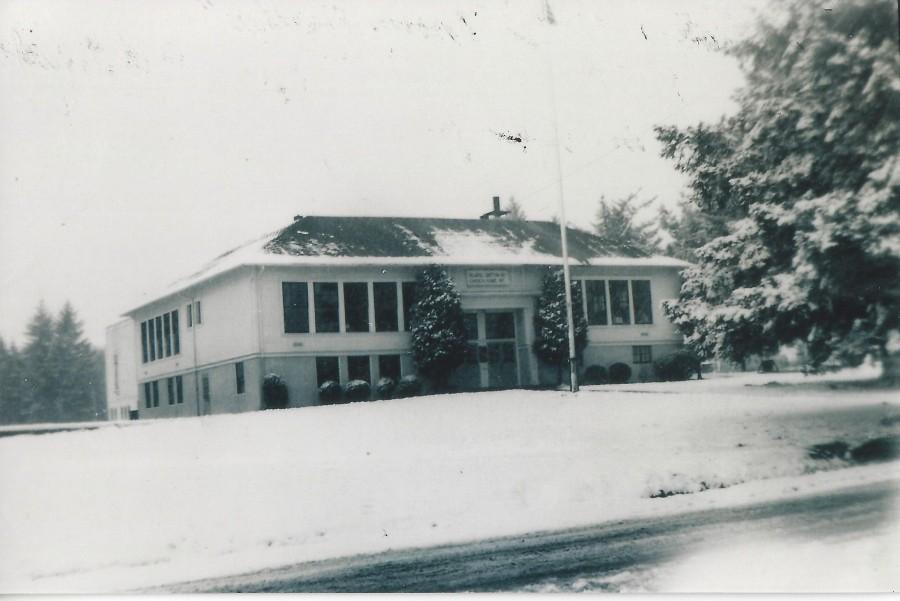 1951 Garden Home School, winter