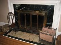 Schanen marble fireplace
