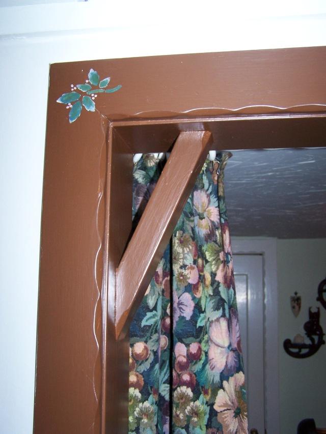 Porshman house - trim detail