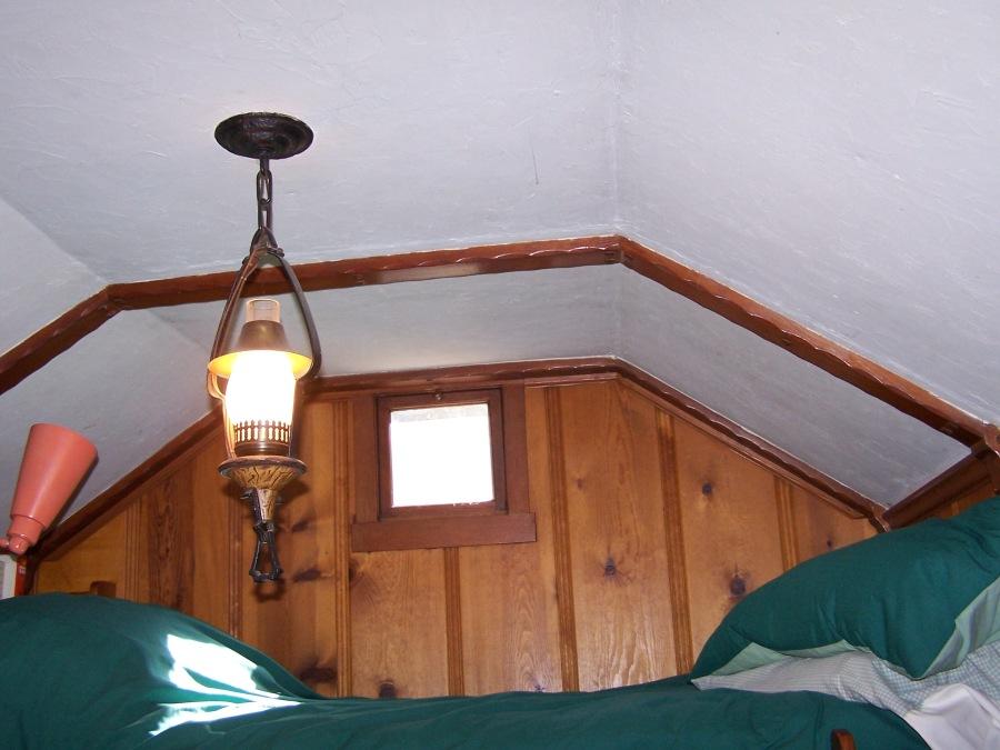 Porshman house - bunk room detail