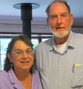 Linda and Larry Monk, 2013. Larry was pastor at Garden Home Methodist Church in the 1970s.