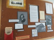 History Board at Garden Home Recreation Center