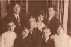 Family of Charles and Musetta Adams