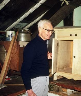 Allen Shirley in workshop