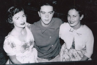 Gwen Berry, Jim Bastien and Dorothy Johnson (in highschool)