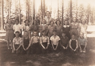 1938 Garden Home Grade School, 3rd and 4th grades