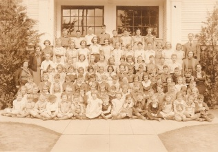1935 Garden Home Grade School, all grades
