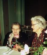 Hilda Fetty (?) and Mae Windham