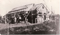 1911 F.A. Martin home under construction