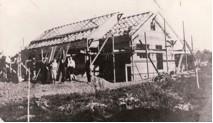 1911 F.A. Martin home under construction