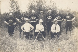 1910 Garden Home baseball team