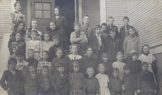 1912 Garden Home School, all grades