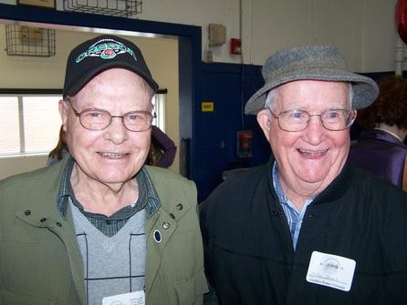 Don Dunbar and Arley Boyce, 2012