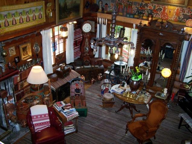 Fogelbo interior from loft